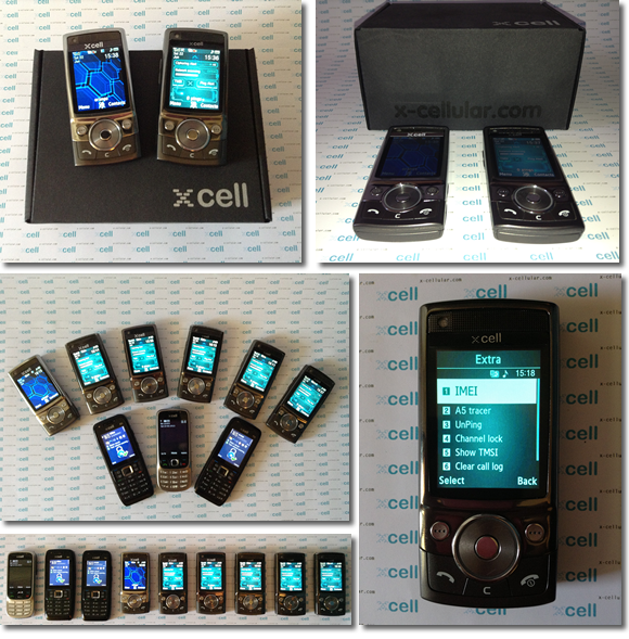 Home Xcell Stealth Phones